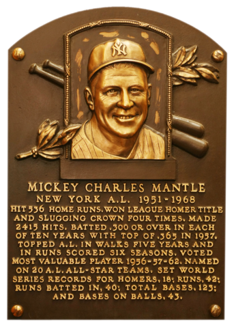 Mantle Mickey